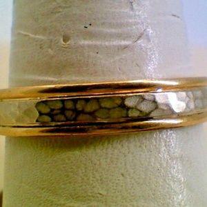 Jewelry - 14K Yellow Gold Men's Wedding Band Fashion Ring 4.